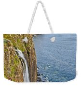 Kilt Rock Waterfall Weekender Tote Bag
