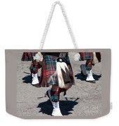 Kilts On Parade Weekender Tote Bag