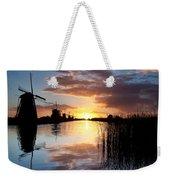 Kinderdijk Sunrise Weekender Tote Bag