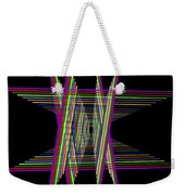 Kinetic Rainbow 16 Weekender Tote Bag