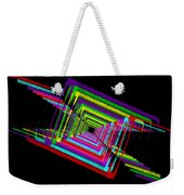 Kinetic Rainbow 17 Weekender Tote Bag