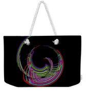 Kinetic Rainbow 18 Weekender Tote Bag