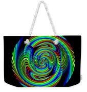 Kinetic Rainbow 26 Weekender Tote Bag