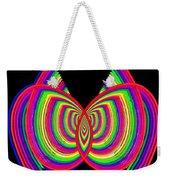 Kinetic Rainbow 27 Weekender Tote Bag