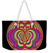 Kinetic Rainbow 28 Weekender Tote Bag