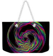 Kinetic Rainbow 36 Weekender Tote Bag