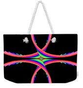 Kinetic Rainbow 40 Weekender Tote Bag