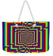 Kinetic Rainbow 42 Weekender Tote Bag