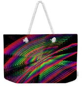 Kinetic Rainbow 43 Weekender Tote Bag