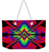 Kinetic Rainbow 44 Weekender Tote Bag
