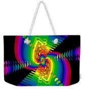 Kinetic Rainbow 47 Weekender Tote Bag