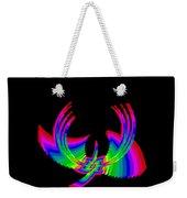 Kinetic Rainbow 49 Weekender Tote Bag