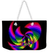 Kinetic Rainbow 51 Weekender Tote Bag