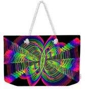 Kinetic Rainbow 55 Weekender Tote Bag