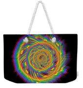 Kinetic Rainbow 60 Weekender Tote Bag