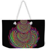 Kinetic Rainbow 67 Weekender Tote Bag