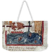 King Arthur And Giant Weekender Tote Bag