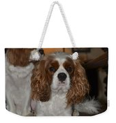 King Charles Dogs Weekender Tote Bag