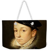 King Charles Ix Of France Weekender Tote Bag