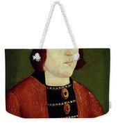 King Edward Iv Of England Weekender Tote Bag