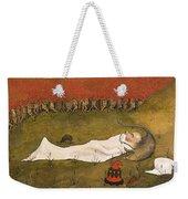 King Hobgoblin Sleeping Weekender Tote Bag