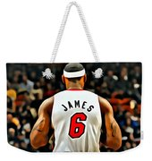 King James Weekender Tote Bag