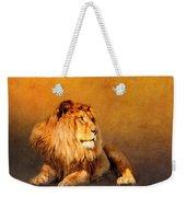 King Leo Weekender Tote Bag