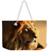 King Lion Of Africa Weekender Tote Bag
