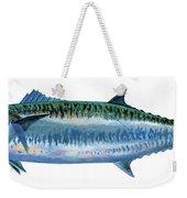King Mackerel Weekender Tote Bag by Carey Chen