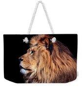 King Of Beast Weekender Tote Bag