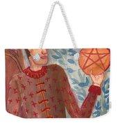 King Of Pentacles Weekender Tote Bag
