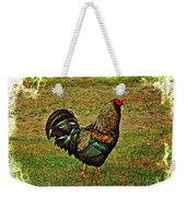 King Of The Hill - Winery Rooster Weekender Tote Bag