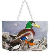 King Of The Pond Weekender Tote Bag