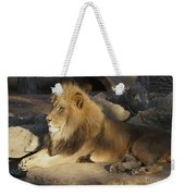King Of The Rock Weekender Tote Bag