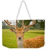 King Of The Spotted Deers Weekender Tote Bag