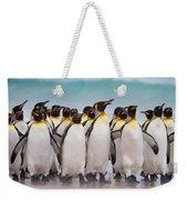 King Penguins Weekender Tote Bag