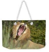 King Size Yawn Weekender Tote Bag