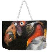 King Vulture - Impasto Weekender Tote Bag