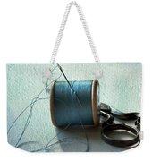 Kingfisher Blue Weekender Tote Bag