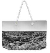 Kings Canyon Black And White Weekender Tote Bag
