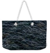 Seagulls At Cliffs Ready To Fish In Mediterranean Sea - Kings Of The World Weekender Tote Bag