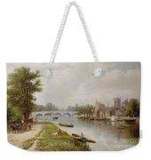 Kingston On Thames Weekender Tote Bag by Robert Finlay McIntyre
