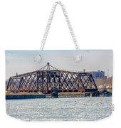 Kinnickinnic River Swing Bridge Weekender Tote Bag