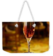 Kir Royale In A Champagne Glass Weekender Tote Bag