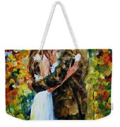 Kiss In The Woods Weekender Tote Bag