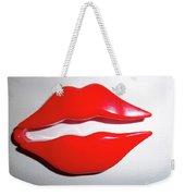 Kiss Me Weekender Tote Bag