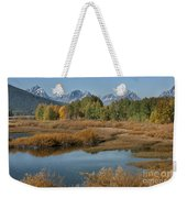 Kiss Of Fall In The Grand Tetons Weekender Tote Bag