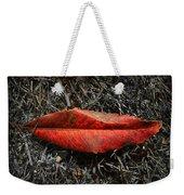 Kiss Of Leaf Weekender Tote Bag