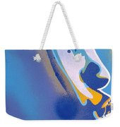 Kiss Series Blues And Yellows Weekender Tote Bag