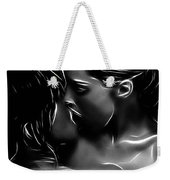 Kissing A Girl Weekender Tote Bag